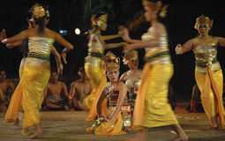 HISTORY OF DANCE IN INDONESIA Stock Images