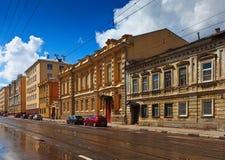 History district of Nizhny Novgorod Stock Images