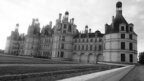 History doesn't live in the stone, it lives in our memory. Castle Chambord, France Royalty Free Stock Photos