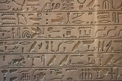 History of Egypt. Beautiful hieroglyph history of Egypt Stock Image