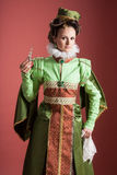 History of fashion design - 16th century Royalty Free Stock Image