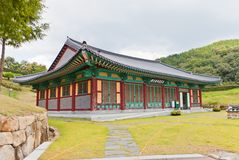 History Hall of Dongnae castle in Busan, Korea Royalty Free Stock Image