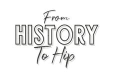 History And Historians Quote background Royalty Free Stock Image