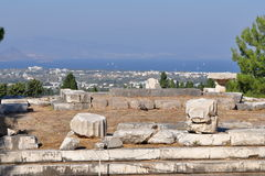 History of Kos island,Greece Stock Images