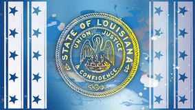 History of Louisiana Stock Image