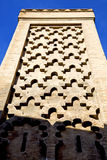 The history in maroc africa  minaret Stock Images
