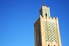 History in maroc africa   religion and the blue Stock Photos