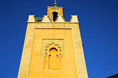 History  maroc africa   religion and   blue     sky Stock Photos