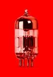 History old electronic radio tube Stock Photo