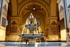 Bursa Grand Mosque fountain in. In the history of the ottoman empire in Bursa Grand Mosque Royalty Free Stock Image