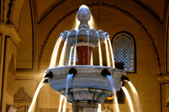 Bursa Grand Mosque fountain in Stock Photo