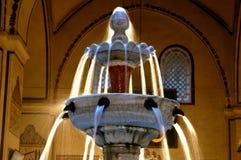 Bursa Grand Mosque fountain in. In the history of the ottoman empire in Bursa Grand Mosque Stock Photo