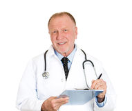 History, physical, patient notes Stock Photography