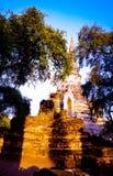 Ayutaya 7. This is history place an old palace in Ayutaya Thailand Royalty Free Stock Image