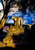 Ayutaya 9. This is history place an old palace in Ayutaya Thailand Stock Photos