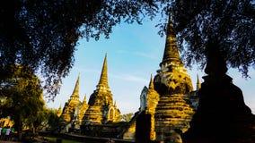 Ayutaya 8. This is history place an old palace in Ayutaya Thailand Stock Image