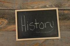 History school subject Royalty Free Stock Photo