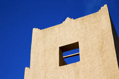 the history  symbol  in morocco  africa  window Royalty Free Stock Photos