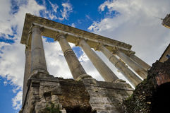 The History Is Talking. The magnificent ruins of the Roman Empire Royalty Free Stock Photography