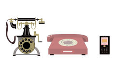 History of the telephone Stock Images