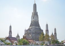 The history of thailand temple Wat Arun. Thailand have many temple and this is the one of popular place in Stock Images