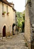 historyczną ulicę Obraz Royalty Free