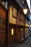 historyczną ulicę Obrazy Royalty Free