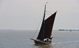 Historyczna łódź rybacka Zeesboat Zdjęcia Stock