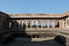 Historyczna architektura, baz bahadurs pałac Fotografia Royalty Free