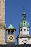 Historyczna architektura Salzburg, Austria - Zdjęcia Royalty Free