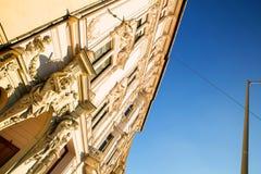 Historyczna architektura w Budapest Zdjęcie Stock