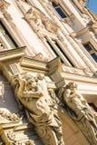 Historyczna architektura w Budapest Obrazy Stock