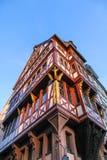 Historyczna architektura w Frankfurt magistrala - Am - zdjęcia stock