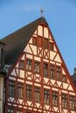 Historyczna architektura w Frankfurt magistrala - Am - obraz royalty free