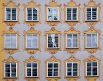 Historyczna architektura w mieście Salzburg Obrazy Royalty Free