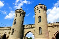 Historyczna architektura w Potsdam fotografia stock