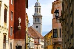 Historyczna architektura w Sopron Zdjęcie Royalty Free