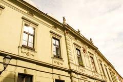 Historyczna architektura w Sopron Obrazy Stock