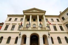 Historyczna architektura w Sopron Zdjęcia Royalty Free