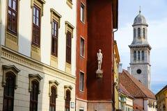 Historyczna architektura w Sopron Obraz Royalty Free