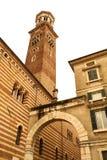 Historyczna architektura w Verona zdjęcia stock