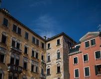 Historyczna architektura w Wenecja Zdjęcie Royalty Free