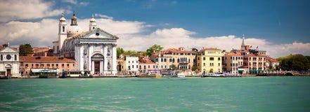 Historyczna architektura w Wenecja Zdjęcia Royalty Free