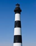 Historyczna Bodie wyspy latarnia morska przy przylądka Hatteras Krajowym Seashore na Zewnętrznych bankach Pólnocna Karolina Zdjęcie Stock