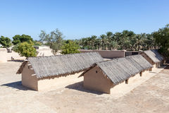 Historyczna dziedzictwo wioska w Fujairah Fotografia Stock