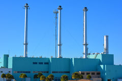 Historyczna elektrownia Obrazy Stock