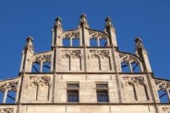 Historyczna fasada w Munster, Niemcy Zdjęcie Royalty Free