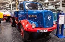 Historyczna HANOMAG HENSCHEL 140 ciężarówka Zdjęcie Stock