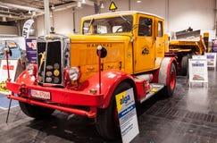 Historyczna HANOMAG HENSCHEL ciężarówka Zdjęcia Stock
