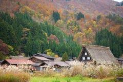 historyczna idzie Japan shirakawa wioska Zdjęcie Royalty Free